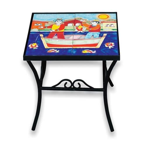 Parrucca Four-Tile Tabletop-Panel